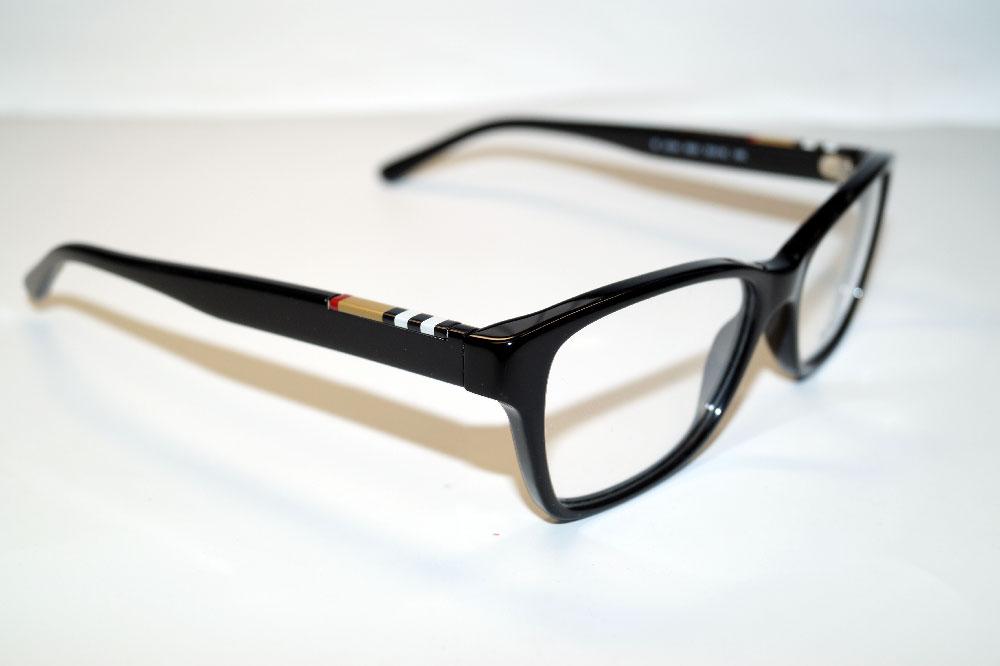 BURBERRY Brillenfassung Brillengestell Eyeglasses Frame BE 2144 3001 Gr.53