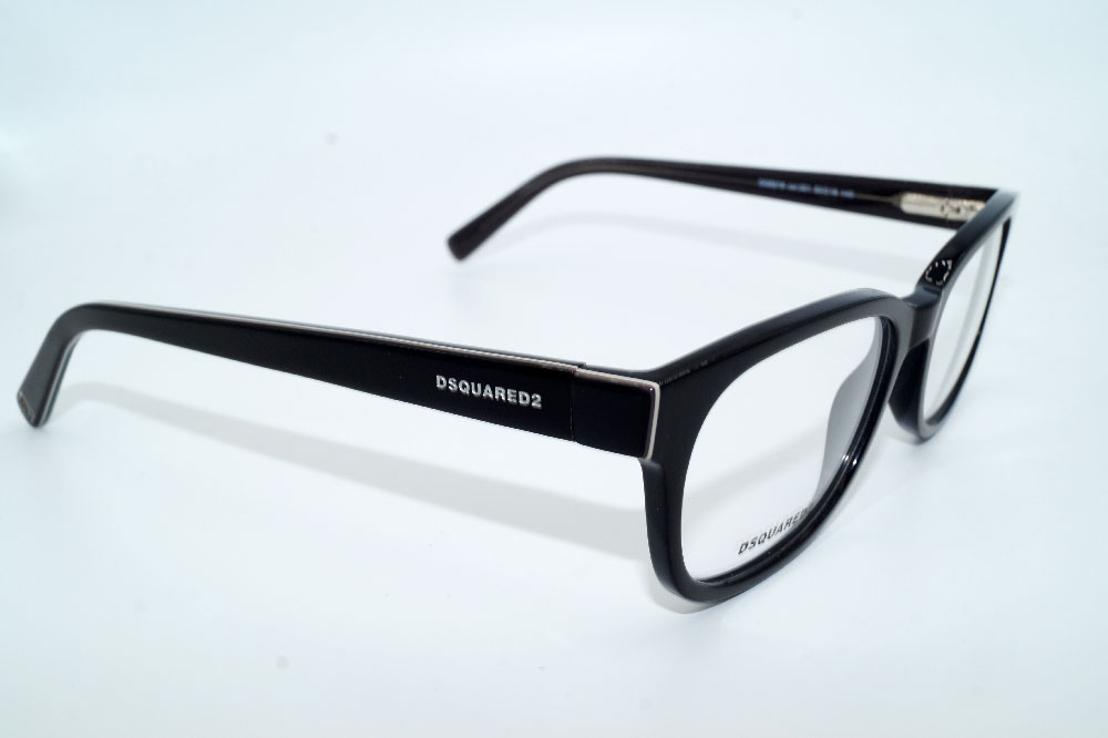 DSQUARED2 Brillenfassung Brillengestell Eyeglasses DQ 5218 001 Gr.53