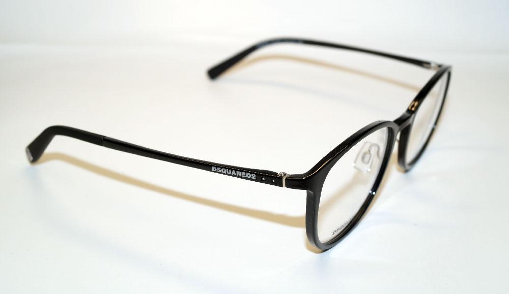 DSQUARED2 Brillenfassung Brillengestell Eyeglasses DQ 5220 001 Gr.51