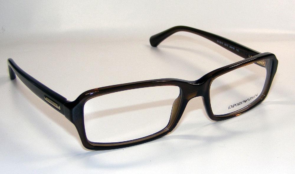 EMPORIO ARMANI Brillenfassung Brillengestell Eyeglasses Frame EA 3010 5073 Gr.54