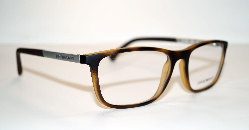 EMPORIO ARMANI Brillenfassung Brillengestell Eyeglasses Frame EA 3069 5594 Gr.55