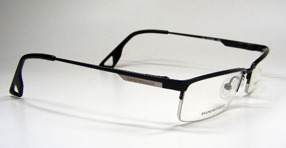 EMPORIO ARMANI Brillenfassung Brillengestell Eyeglasses Frame EA 9491 003 Gr.52