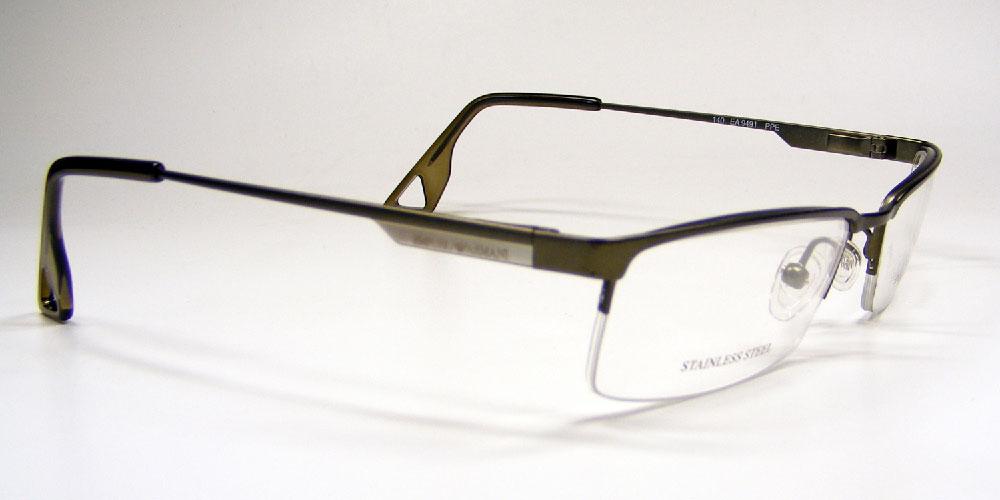 EMPORIO ARMANI Brillenfassung Brillengestell Eyeglasses Frame EA 9491 PPE Gr.52