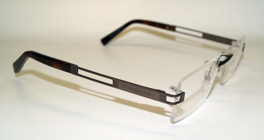ERMENEGILDO ZEGNA Brillenfassung Brillengestell Eyeglasses Frame EZ 5075 037