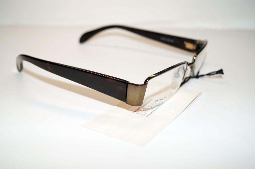 GIORGIO ARMANI Brillenfassung Brillengestell Eyeglasses Frame GA 744 SHN