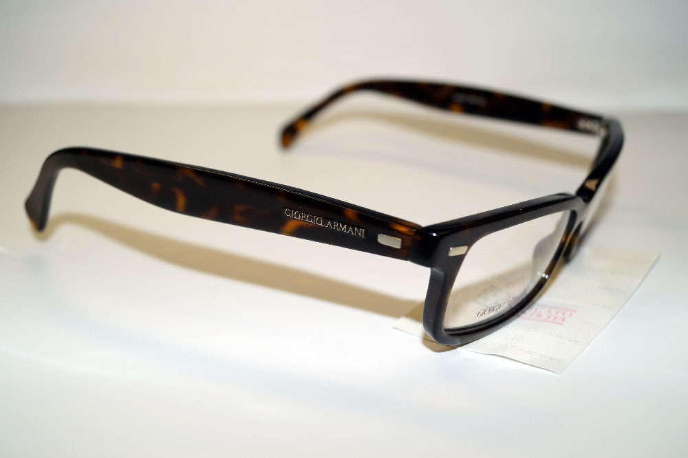 GIORGIO ARMANI Brillenfassung Brillengestell Eyeglasses Frame GA 822 086