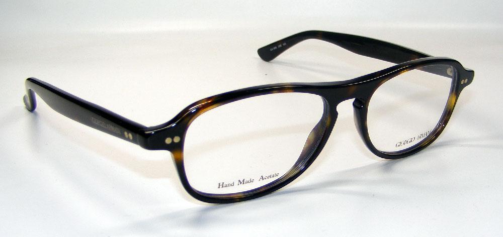 GIORGIO ARMANI Brillenfassung Brillengestell Eyeglasses Frame GA 966 086 Gr.52