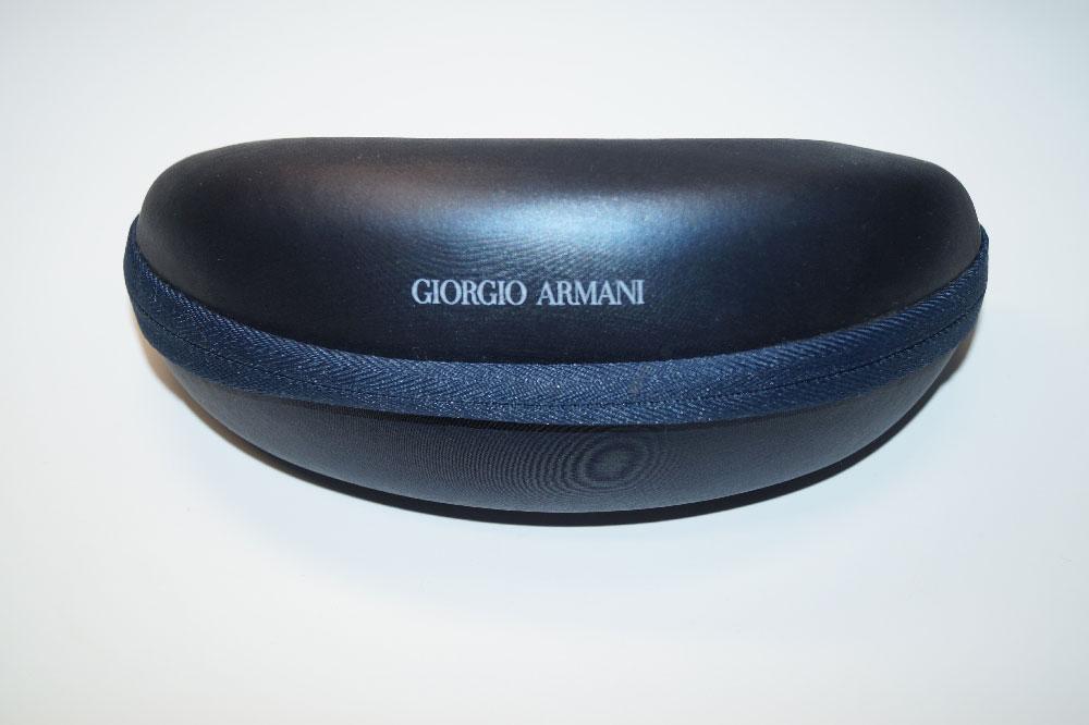 GIORGIO ARMANI Sonnenbrillenetui Brillencase  Case Sunglasses Blau