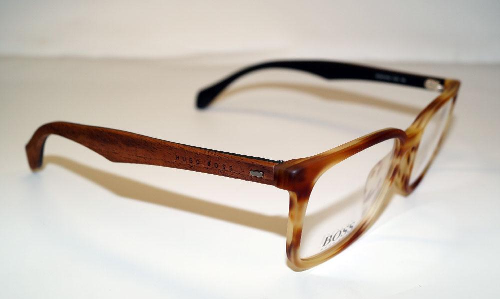 HUGO BOSS Brillenfassung Brillengestell Eyeglasses Frame BOSS 0844 IWG