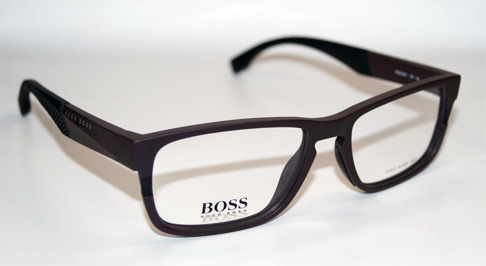 HUGO BOSS Brillenfassung Brillengestell Eyeglasses Frame BOSS 0917 1XF
