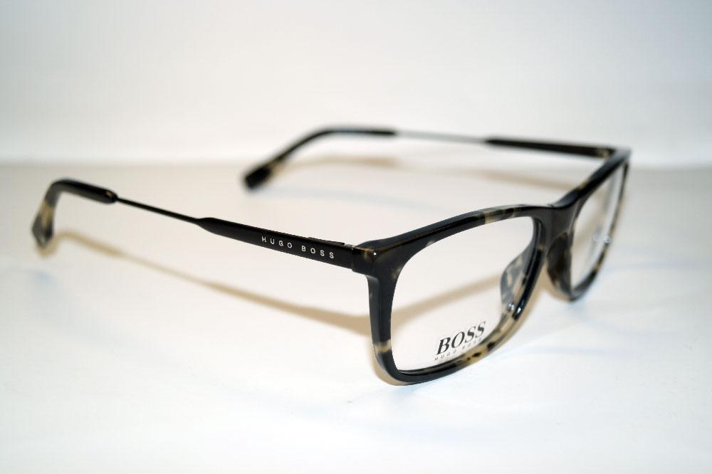 HUGO BOSS Brillenfassung Brillengestell Eyeglasses Frame BOSS 0996 WR7
