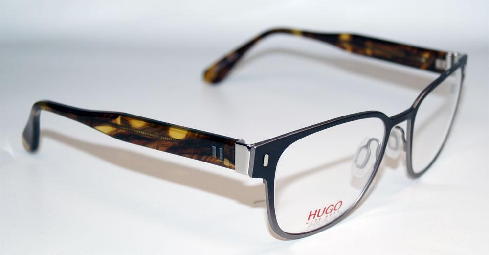 HUGO BOSS Brillenfassung Brillengestell Eyeglasses Frame HUGO 0127 JGD