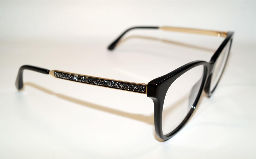 JIMMY CHOO Brillenfassung Brillengestell Eyeglasses Frame JC 199 807