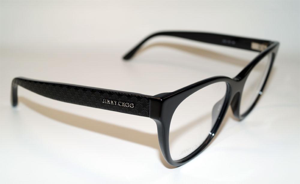 JIMMY CHOO Brillenfassung Brillengestell Eyeglasses Frame JC 201 807