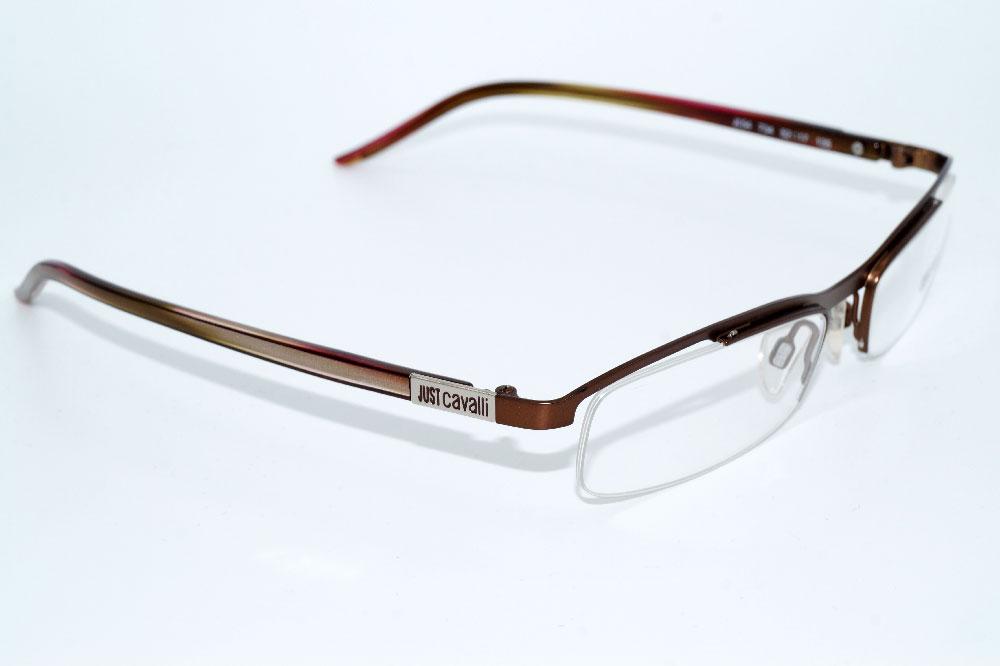 JUST CAVALLI Brillenfassung Brillengestell Eyeglasses JC 0054 734