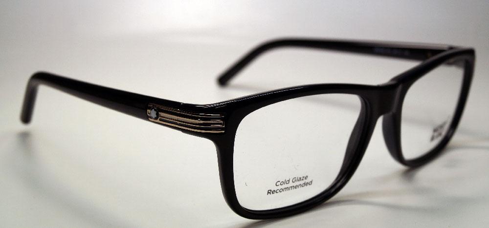 MONT BLANC Brillenfassung Brillengestell Eyeglasses MB 0532 001 Gr.58