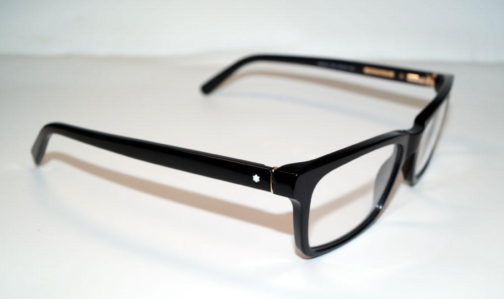 MONT BLANC Brillenfassung Brillengestell Eyeglasses MB 0541 001 Gr.55