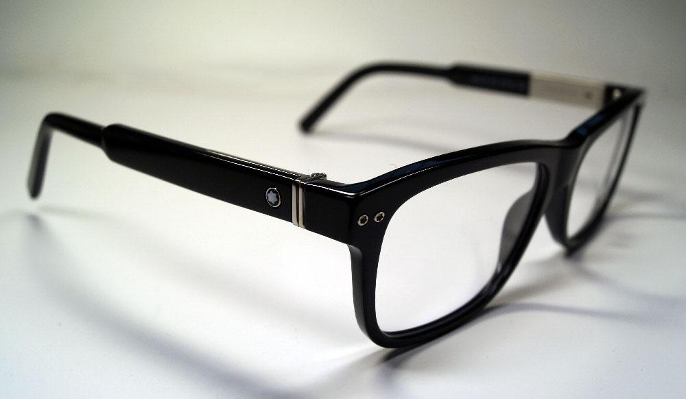 MONT BLANC Brillenfassung Brillengestell Eyeglasses MB 0618 001 Gr.56