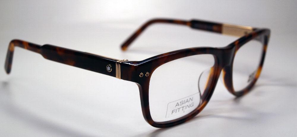 MONT BLANC Brillenfassung Brillengestell Eyeglasses MB 0618 055 Gr.56