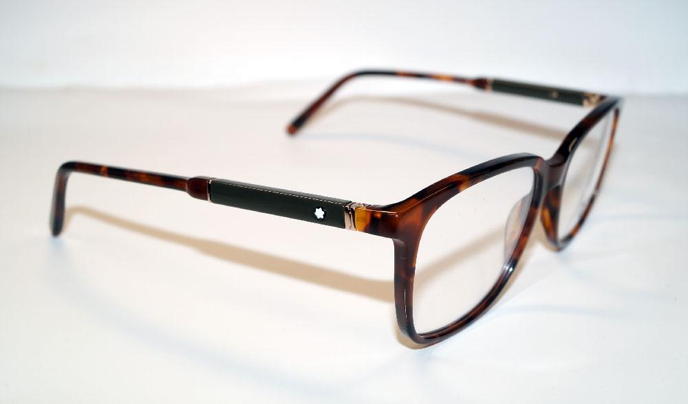 MONT BLANC Brillenfassung Brillengestell Eyeglasses MB 0620 056 Gr.55