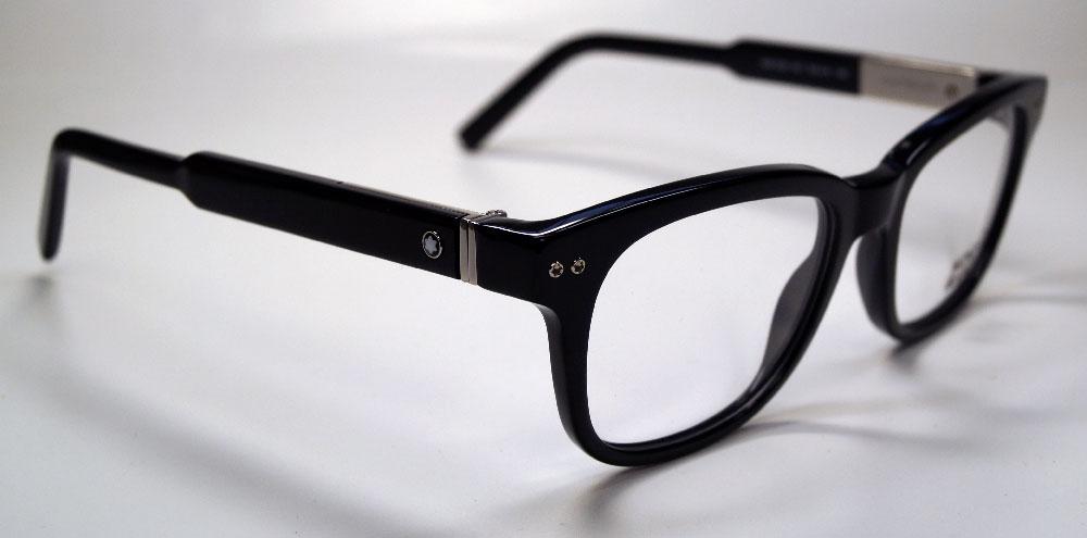 MONT BLANC Brillenfassung Brillengestell Eyeglasses MB 0628 001 Gr.52