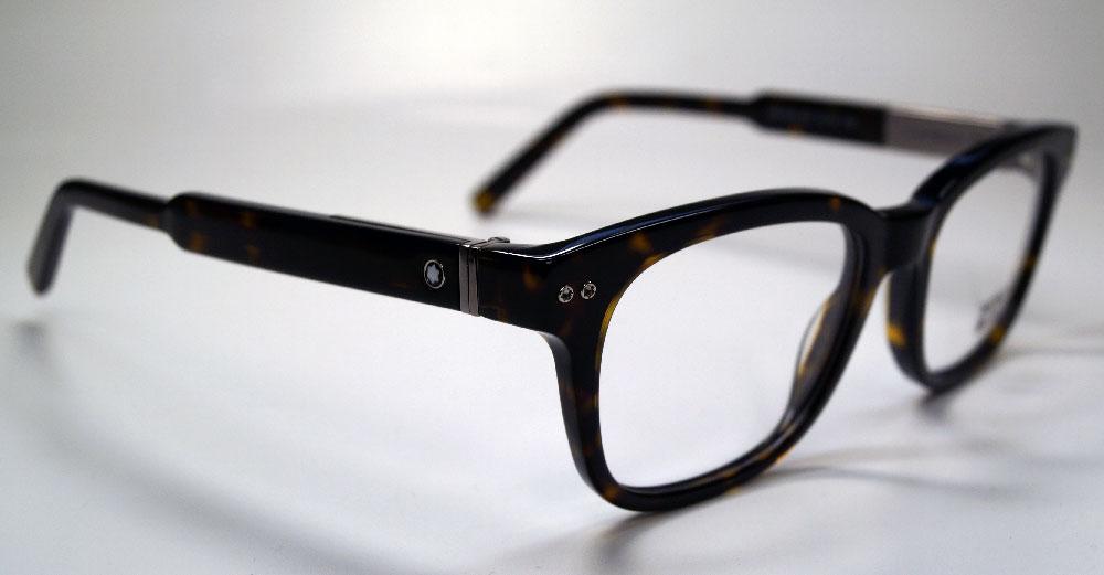 MONT BLANC Brillenfassung Brillengestell Eyeglasses MB 0628 052 Gr.52