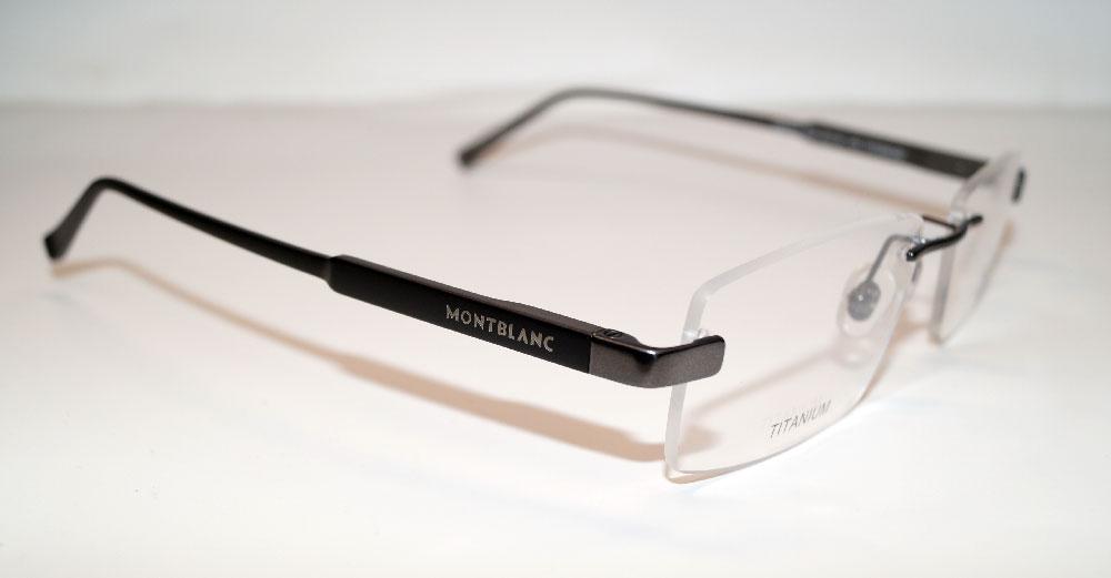 MONT BLANC Brillenfassung Brillengestell Eyeglasses MB 0661 008 Gr.53