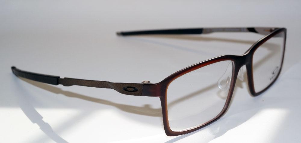 cdad00e9f4 Marco de las lentes gafas OAKLEY espectáculo marco buey 8097 04 acero línea  S 54