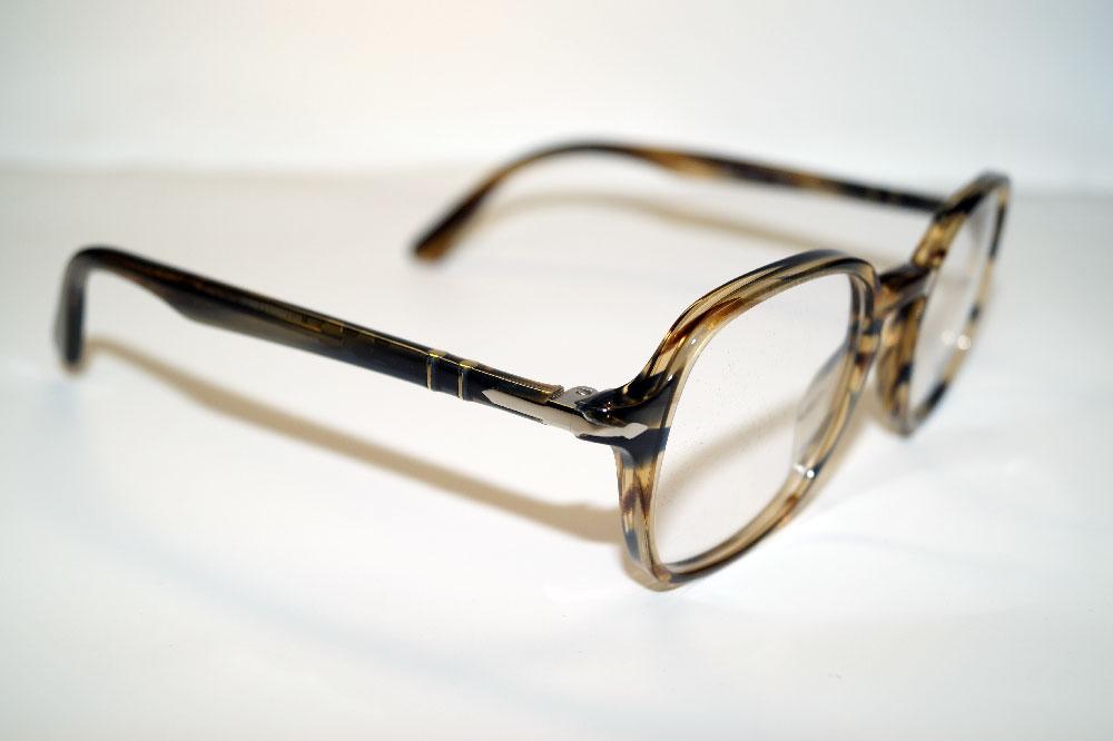 PERSOL Brillenfassung Brillengestell Eyeglasses Frame PO 3142 1049 Gr.47