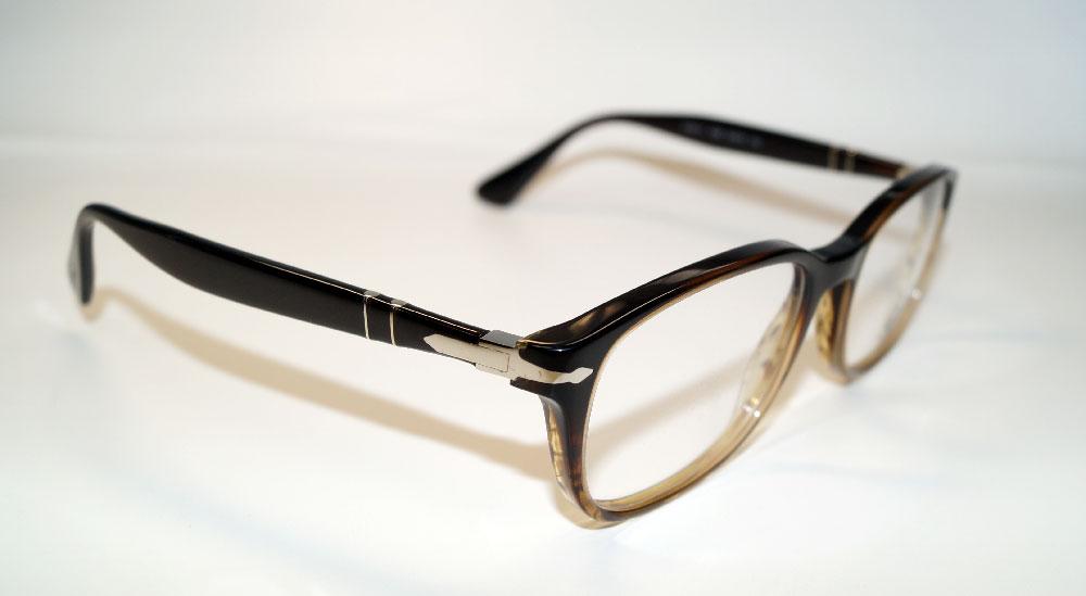 PERSOL Brillenfassung Brillengestell Eyeglasses Frame PO 3163 1026 Gr.54
