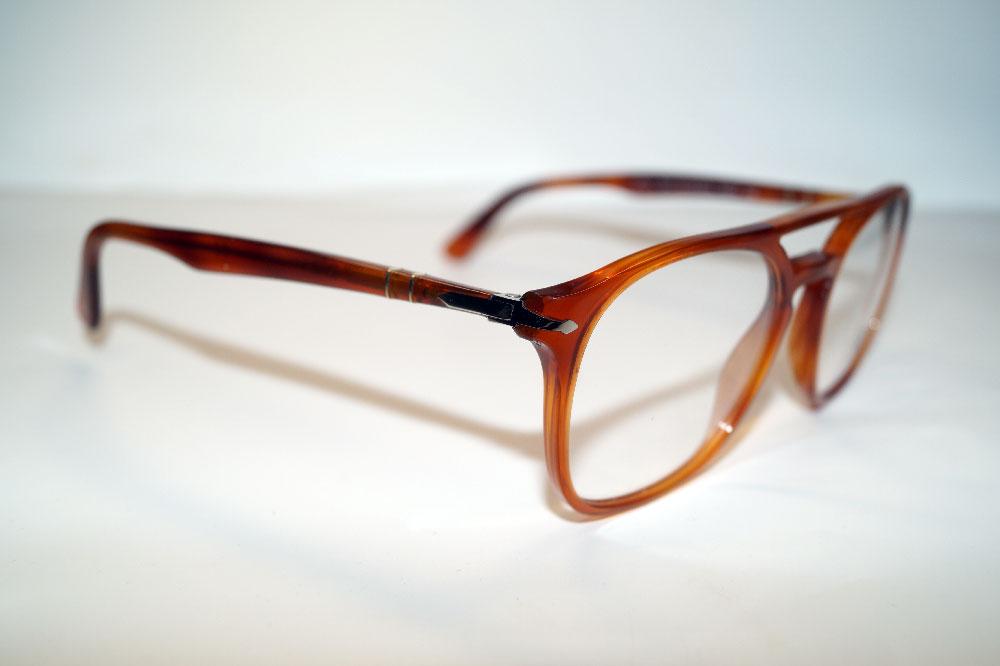 PERSOL Brillenfassung Brillengestell Eyeglasses Frame PO 3175 9041 Gr.52