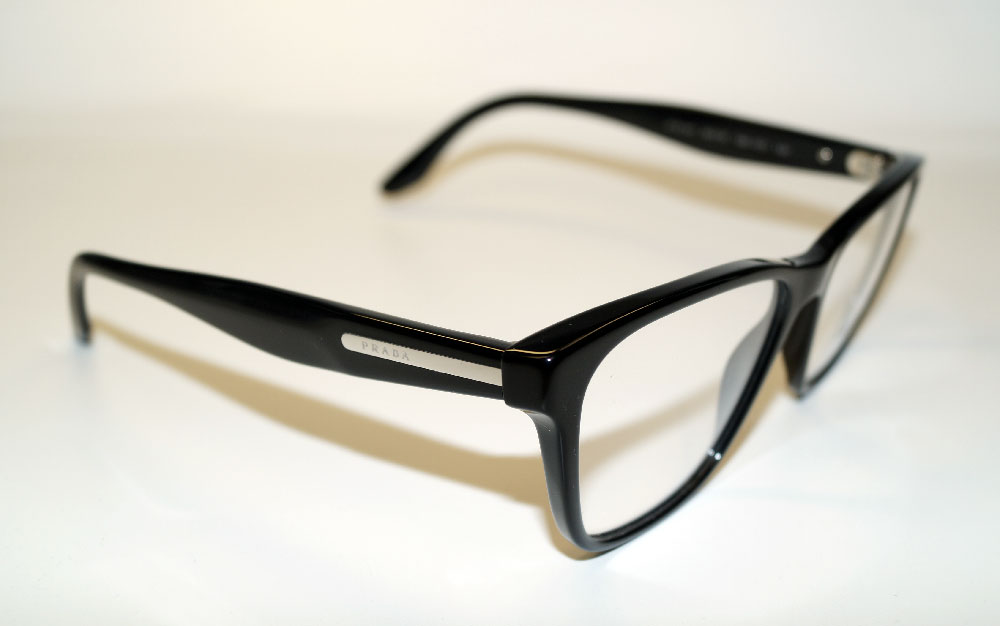 PRADA Brillenfassung Brillengestell Eyeglasses Frame 0PR 04TV 1AB1O1 Gr.54