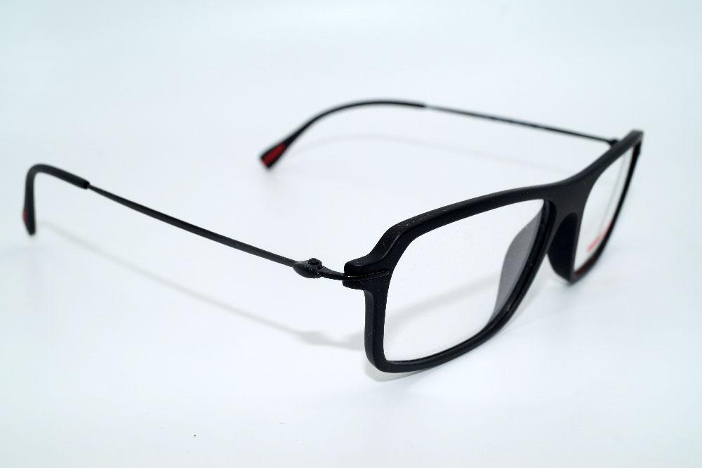 PRADA Brillenfassung Brillengestell Eyeglasses Frame 0PS 03FV DGO1O1 Gr. 55