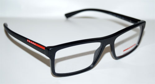 PRADA Brillenfassung Brillengestell Eyeglasses Frame 0PS 04GV 1BO1O1 Gr. 55