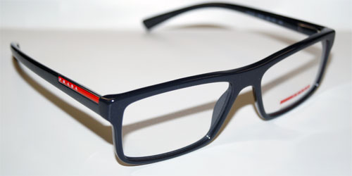 PRADA Brillenfassung Brillengestell Eyeglasses Frame 0PS 04GV UB11O1 Gr.55