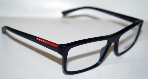 PRADA Brillenfassung Brillengestell Eyeglasses Frame 0PS 04GV UB21O1 Gr. 55