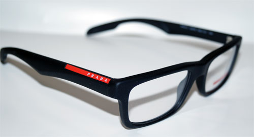 PRADA Brillenfassung Brillengestell Eyeglasses Frame 0PS 07CV DG01O1 Gr. 53