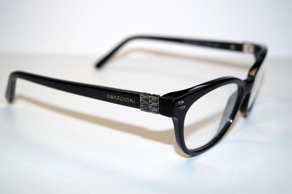 SWAROVSKI Brillenfassung Brillengestell Eyeglasses SK 5003 001