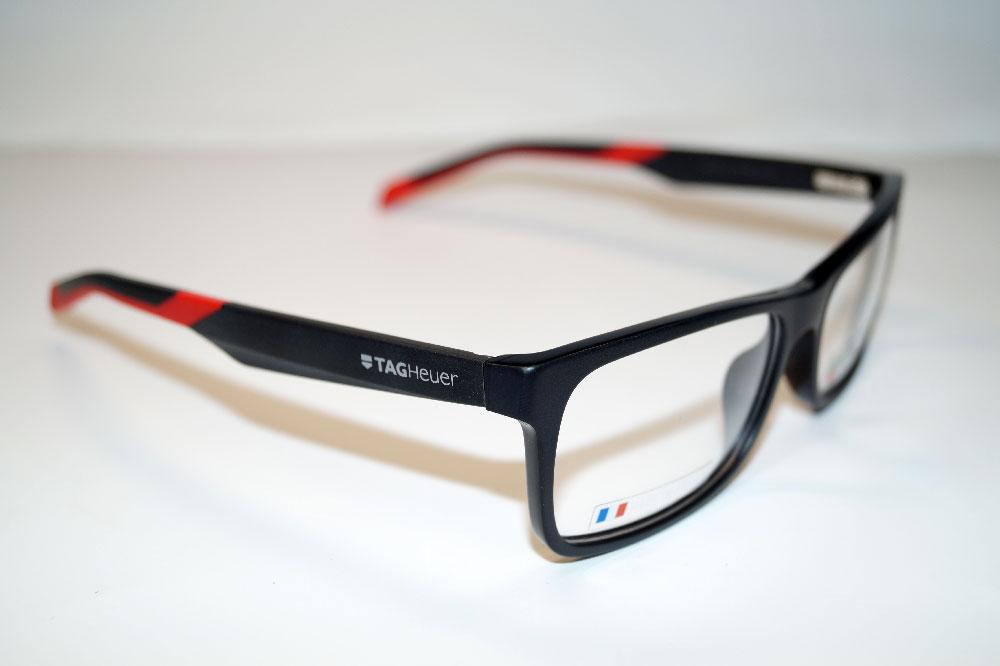 Tag Heuer Brillenfassung Brillengestell Eyeglasses Frame TH0551 005 Größe 57