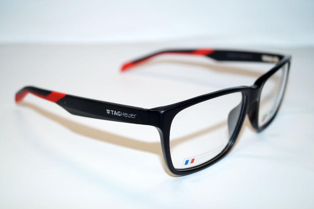 Tag Heuer Brillenfassung Brillengestell Eyeglasses Frame TH0552 005 Größe 59