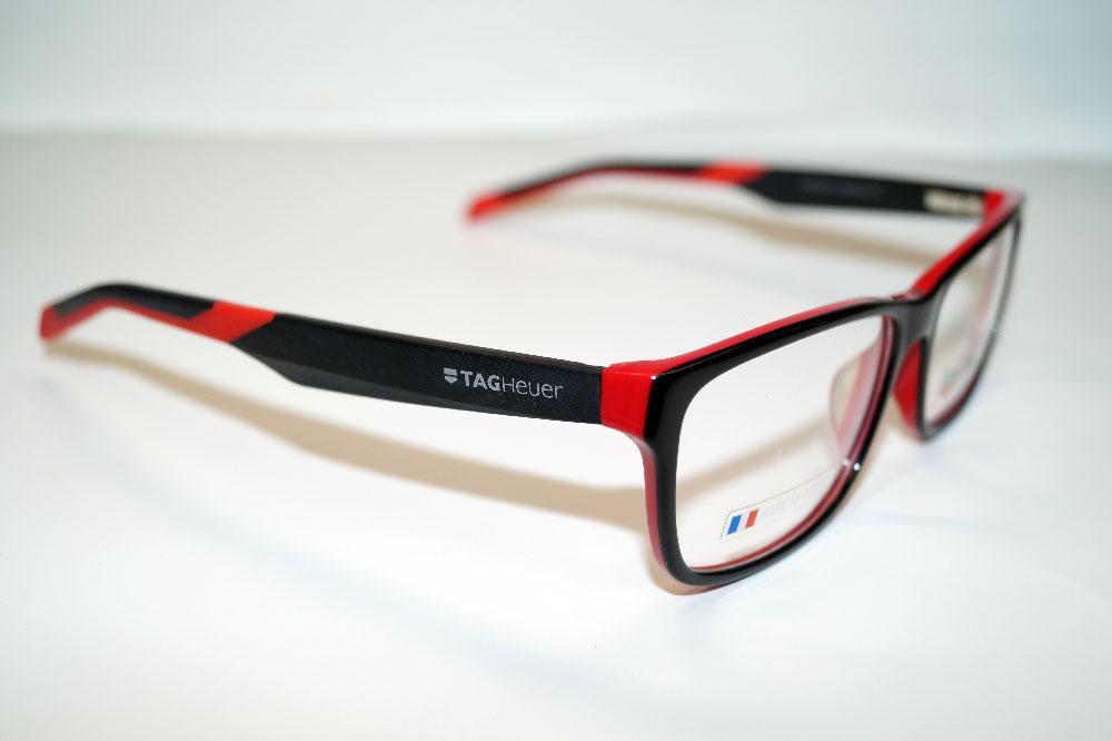 Tag Heuer Brillenfassung Brillengestell Eyeglasses Frame TH0553 002 Größe 57
