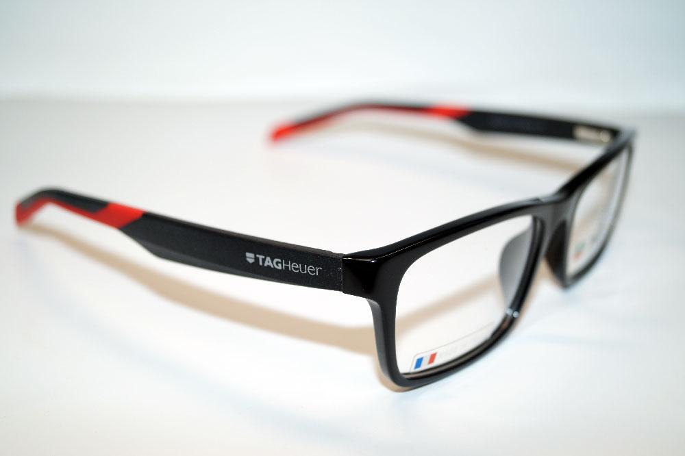 Tag Heuer Brillenfassung Brillengestell Eyeglasses Frame TH0555 006 Größe 55