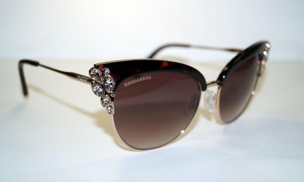DSQUARED2 Sonnenbrille Sunglasses DQ 0200 52T