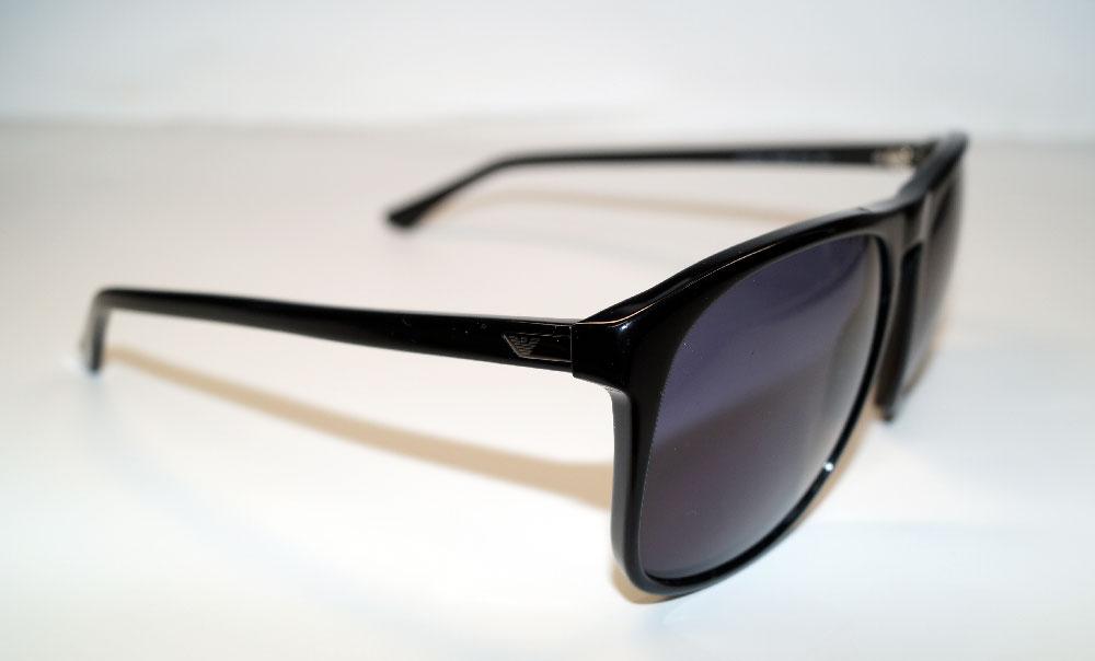EMPORIO ARMANI Sonnenbrille Sunglasses EA 9802 807 BN