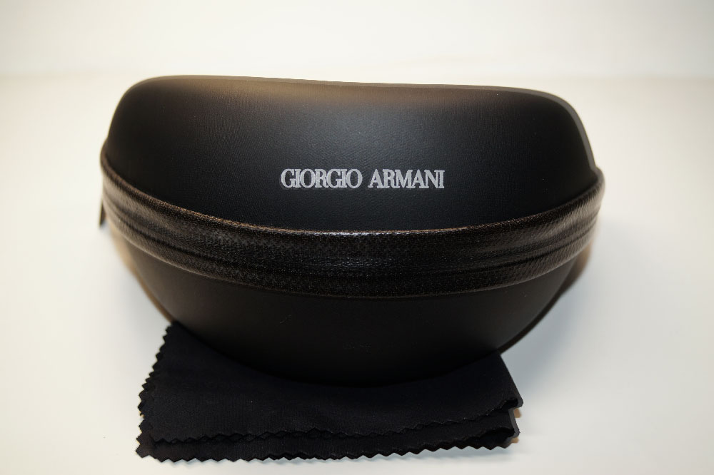 GIORGIO ARMANI Sonnenbrillenetui Case for Sunglasses Black  - Frisbee