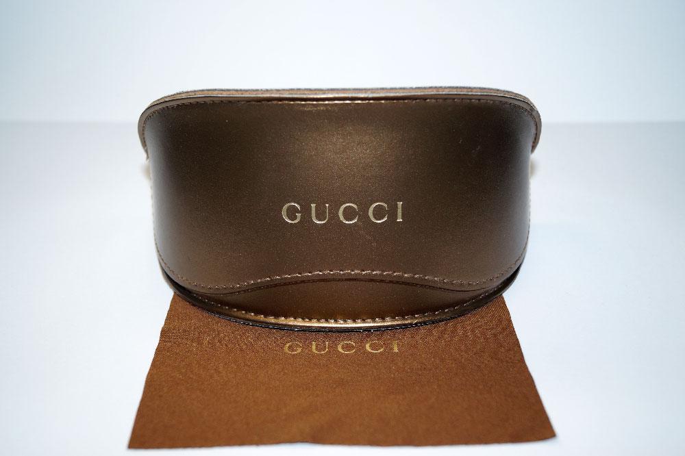 GUCCI Sonnenbrillen Etui Sunglasses Case Gold