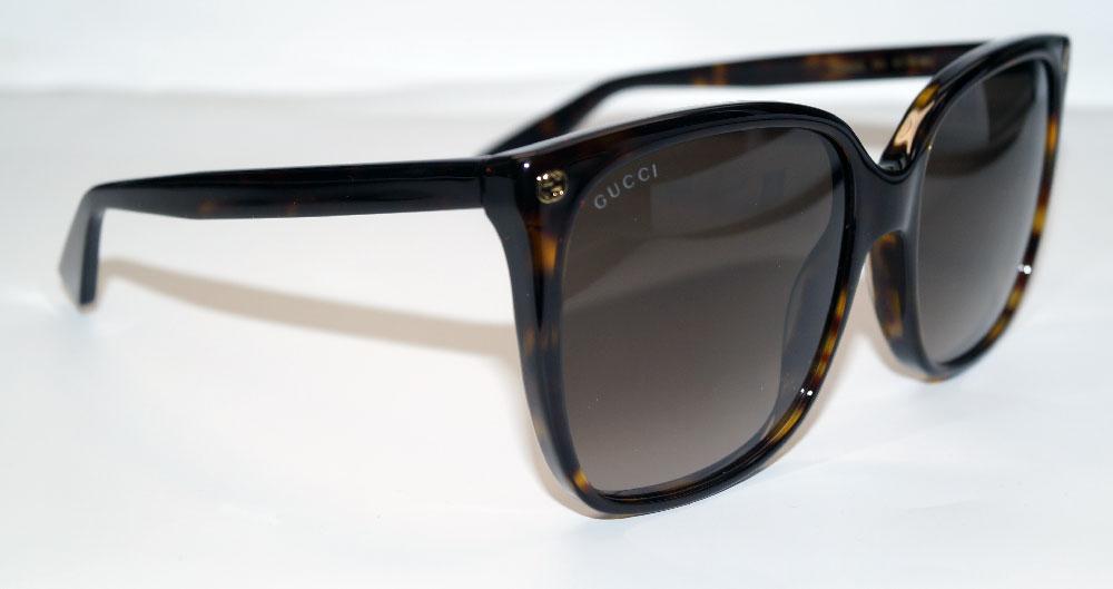 GUCCI Sonnenbrille Sunglasses GG 0022 003