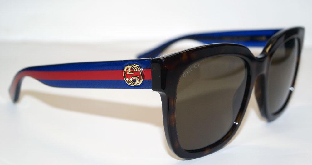 GUCCI Sonnenbrille Sunglasses GG 0034 004
