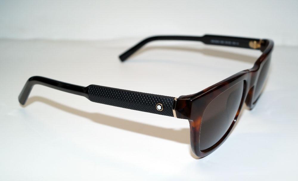 MONT BLANC Sonnenbrille Sunglasses MB652 52E