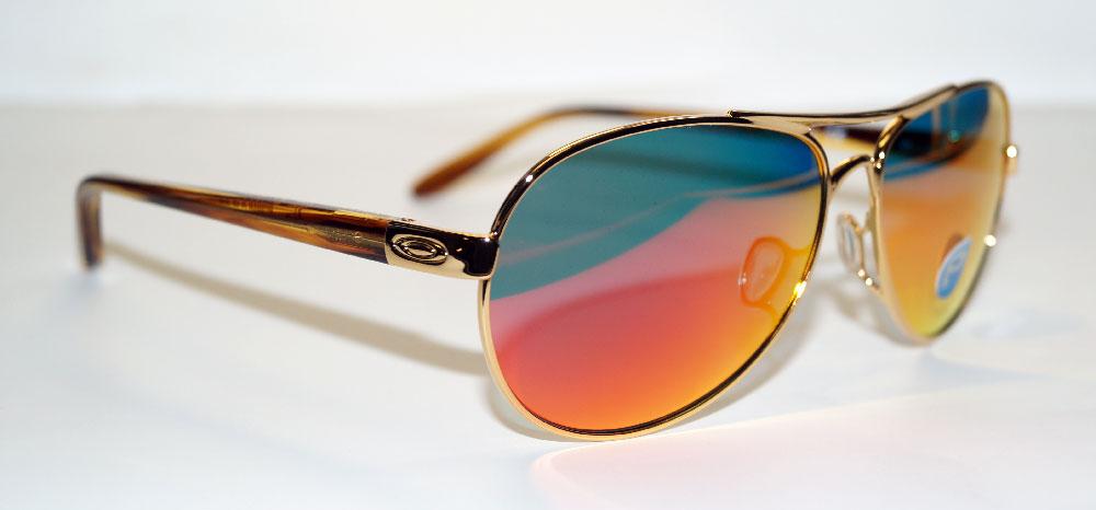 OAKLEY Sonnenbrille Sunglasses OO 4108 16 - Tie Breaker Polarized Gold